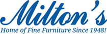 Milton's Home of Fine Furniture Logo